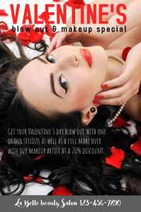 Valentine's Day Hair Beauty Salon Special