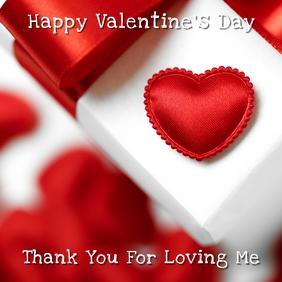 Valentine's Day Instagram Card