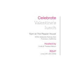 Valentine's Day Lunch Invitation Video