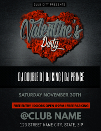 VALENTINE'S DAY PARTY CLUB TEMPLATE