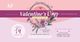 Valentine's Day Party Facebook Shared Image
