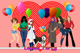 valentine's day party/ girls party