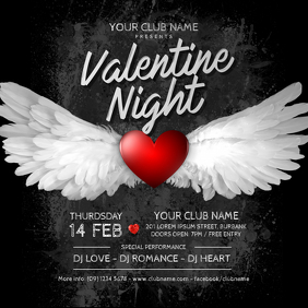 Valentine's Day Party Instagram Post