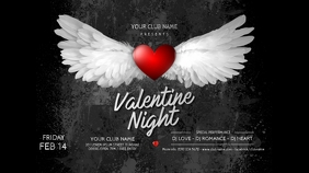Valentine's Day Party Twitter Post Twitter-bericht template