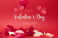Valentine's Day Poster Flyer Video template