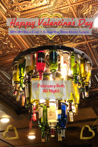Valentine's Day /Pub/ Bar Celebration/ Drinks/Night Party