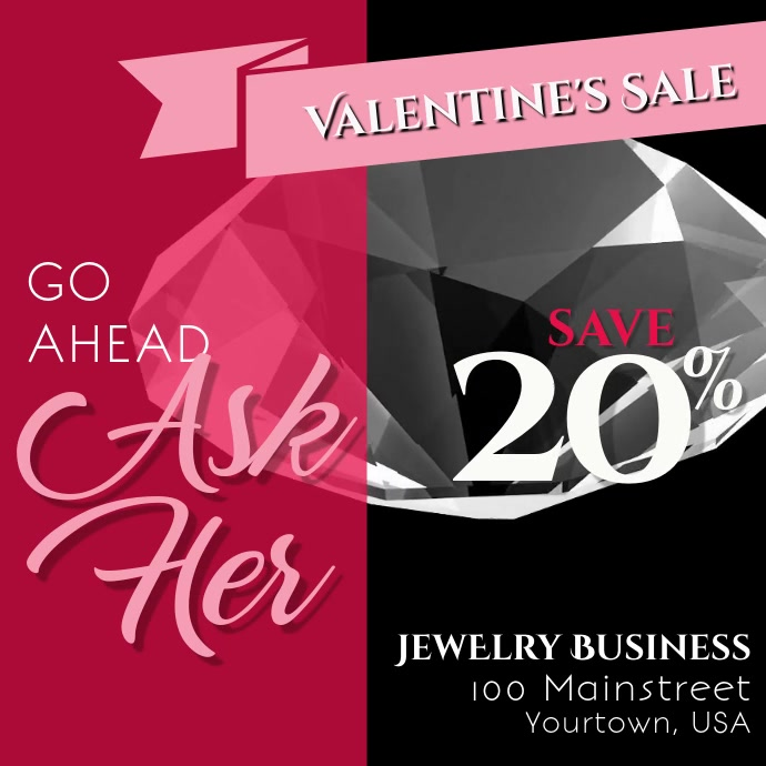 Valentine's Day Sale ASK HER!