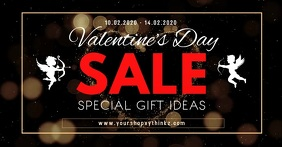 Valentine's Day Sale Cover Video Advert Shop