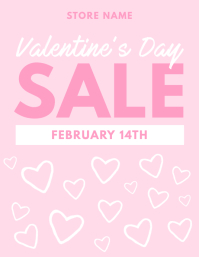 Valentine's Day Sale Flyer