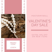 Valentine's Day Sale Instagram Template Iphosti le-Instagram