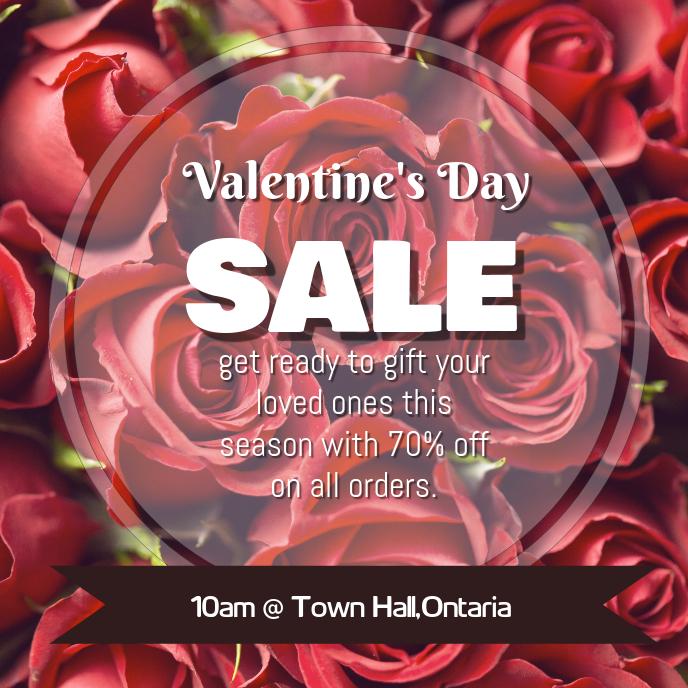 Valentine's Day Sale Post