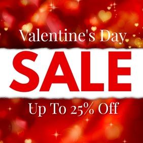 Valentine's Day Sale Price Off Discount