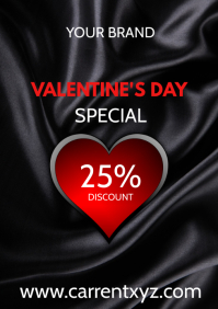 Valentine's Day Sale Special Advertising Shop