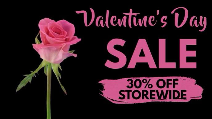 Valentine's Day Sale Template
