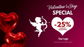 Valentine's Day Sale Video Heart Balloons ad