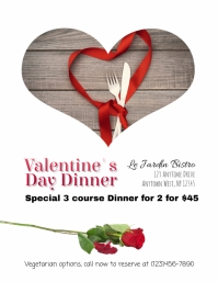 Valentine's Day Special for Restaurants