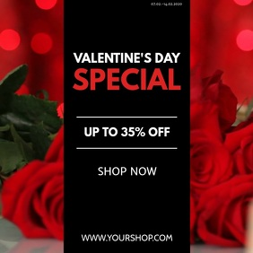 Valentine's Day Special Offer advert Video Ad