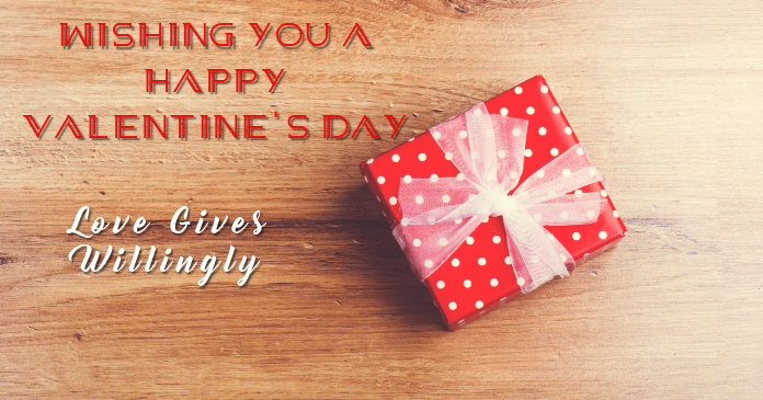 Valentine's Day Template รูปภาพที่แบ่งปันบน Facebook