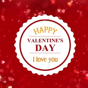 Valentine's Day Video Greeting Card Love You