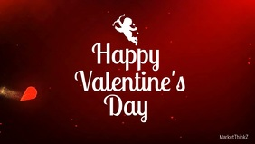 Valentine's day Video Greeting Card Wishes Ad