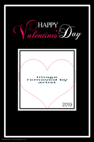 Valentine's Day Wishes Poster Template