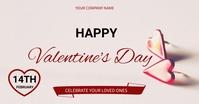 valentine's Immagine condivisa di Facebook template