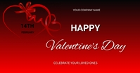 valentine's Facebook Shared Image template