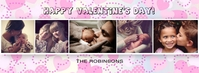 Valentine's Facebook Photo Collage Facebook-coverfoto template