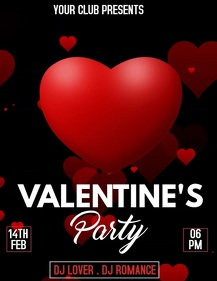Valentine's flyer