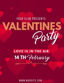 Valentine's flyers,event flyers