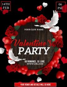 Valentine's flyers,romantic flyers