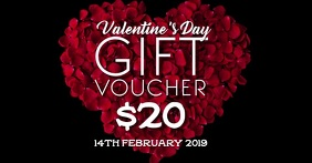 Valentine's gift voucher