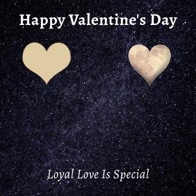 Valentine's Instagram Card