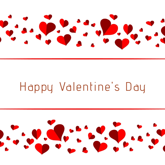 Valentine Card Template from d1csarkz8obe9u.cloudfront.net