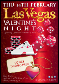 Valentine's Las Vegas Night