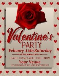 valentine's party flyer