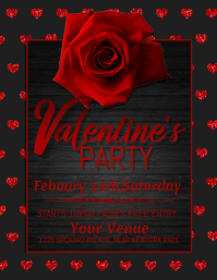valentine's party flyer