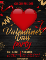 valentine's party template
