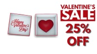 Valentine's Retail Sale Video Ad Ecrã digital (16:9) template