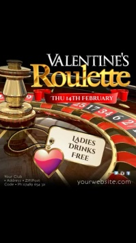 Valentine's Roulette Night Instagram