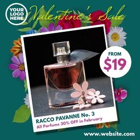 Valentine's Sale Flower Bouquet Video