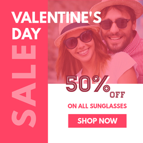 Valentine's Sale Instagram Image
