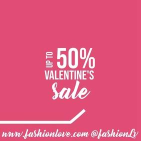 Valentine's Sale Instagram Video Post