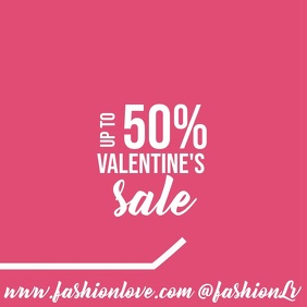 Valentine's Sale Instagram Video Post