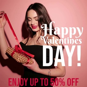 Valentine's Sale promotion video