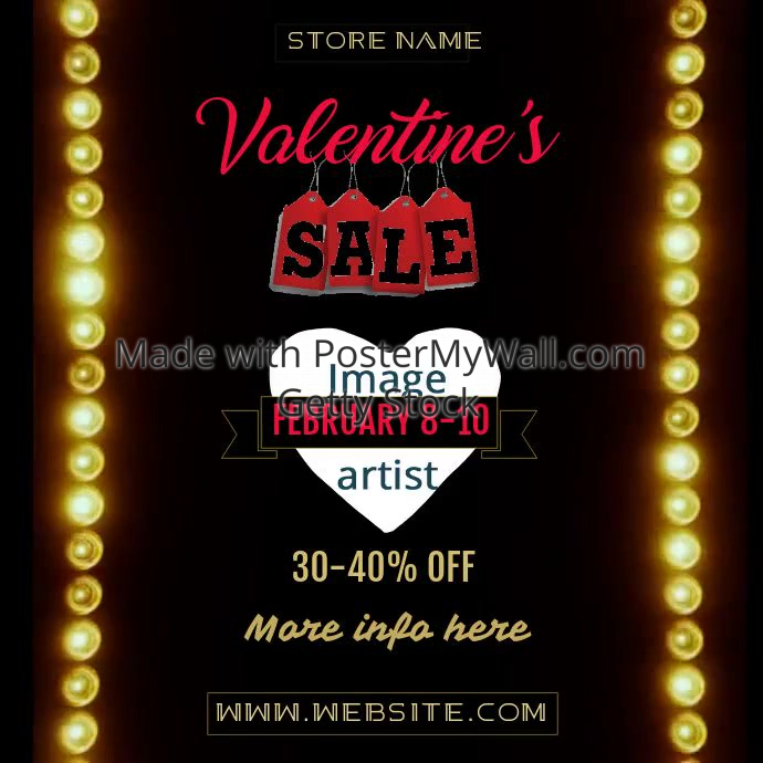 Valentine's Sale Video