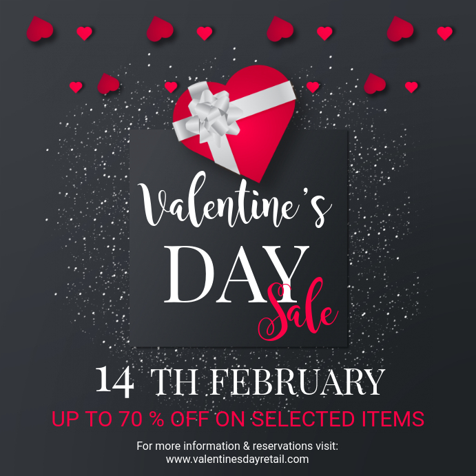 Valentine's Special Sale Offer Instagram Ad