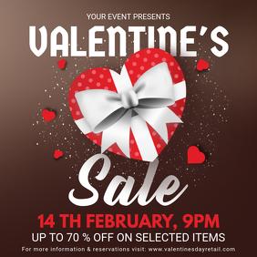 Valentine's Store Sale Instagram Ad