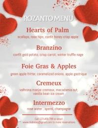 valentine, valentine's menu video