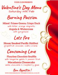 valentine, valentine's party, valentines menu